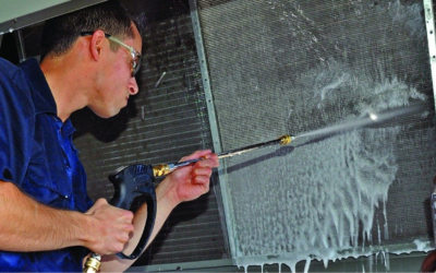 Are You Cleaning Your Commercial HVAC Condenser Units?