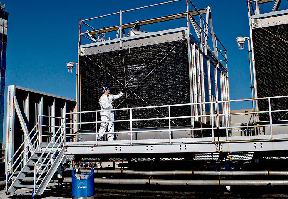 The Importance of Cooling Tower Cleaning and Maintenance