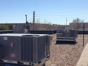Commercial HVAC Rooftop Unit