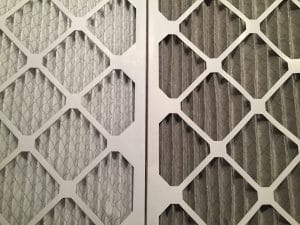Dirty vs Clean Commercial HVAC Filter