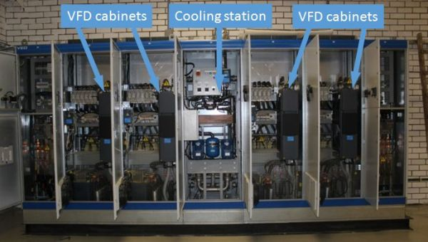 VFD Cabinet - CMI Mechanical