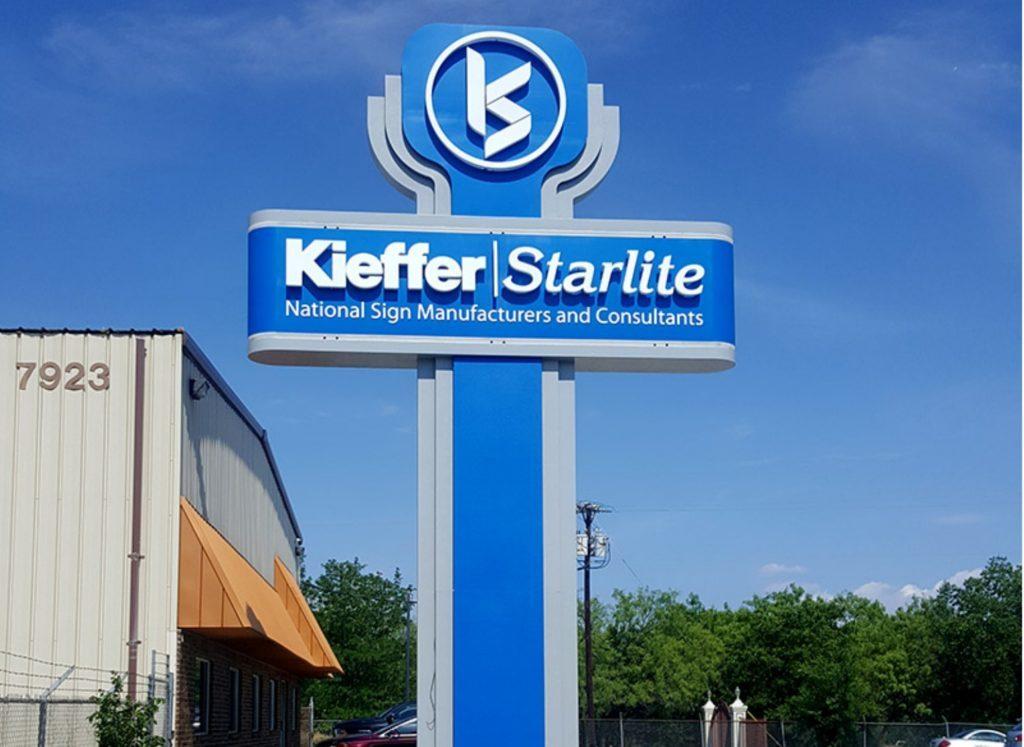 Kieffer Starlite Outdoor Signage - CMI Mechanical