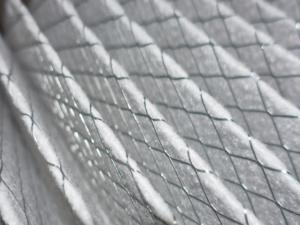 Close up of air filter.