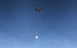 helicopter carrying object